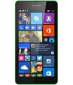 Microsoft Lumia 535 Dual-SIM Bright Green