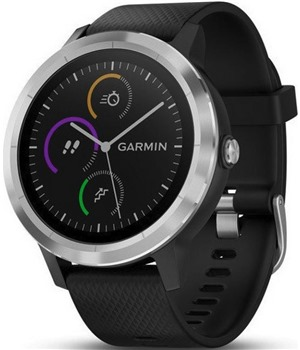 Garmin vivoActive3 Optic Siver, Black band
