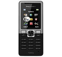 Sony Ericsson T280i Silver on Black