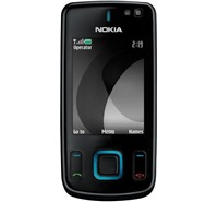 Nokia 6600 slide Black Blue
