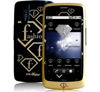 ZTE P729V Blade Fashion TV Black Gold