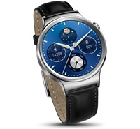 Huawei Watch W1 Stainless Steel + Black Leather ZDARMA bluetooth reproduktor Huawei v ceně 549 Kč ,ZDARMA bluetooth handsfree v ceně 899 Kč