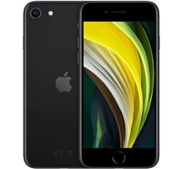 Apple iPhone SE 2020 3GB/128GB Black možnost přikoupení flipového zadního krytu se slevou 10% - černý ,možnost přikoupení ochranného skla se slevou 10% - 9H ,ZDARMA 4smarts MFI kabel v ceně 399 Kč