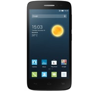 ALCATEL ONETOUCH 5042D POP 2 (4.5) Volcano Black + 3x kryt