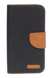 Pouzdro BOOK CANVAS Universal 5,5 black