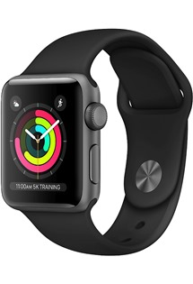 Apple Watch Series 3 38mm Space Grey/Black