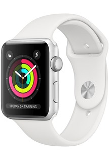 Apple Watch Series 3 42mm Silver/White