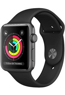 Apple Watch Series 3 42mm Space Grey/Black