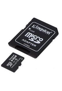 Kingston 64GB microSDXC Class 10/UHS-I  s adaptérem SD (SDCIT/64GB)