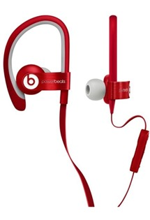 Apple MH782ZM/A Beats PowerBeats In-Ear Headphones - 3,5mm Jack - červené