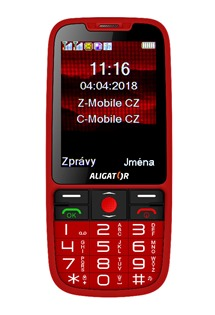 Aligator A890 Senior Red