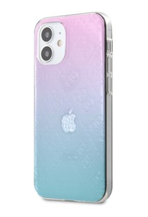 Guess 3D Raised zadní kryt pro Apple iPhone 12 mini multicolor (GUHCP12S3D4GGBP)