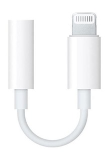 Apple MMX62ZM/A originalní datový kabel Lightning -> 3,5mm bílý (Bulk)