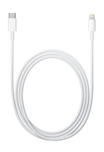 Apple MK0X2ZM/A datový kabel Lightning/Type-C bílý (Bulk)