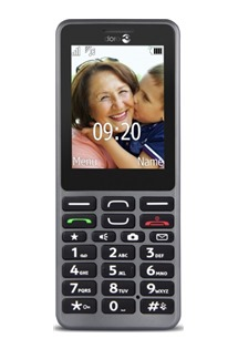 Doro PhoneEasy 509 Black