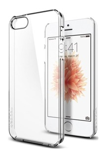 Spigen Thin Fit tenký kryt pro Apple iPhone SE/5s/5 čirý (Crystal Clear)