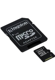 Kingston 32GB microSDHC Class 4 s adaptérem SD (SDC4/32GB)