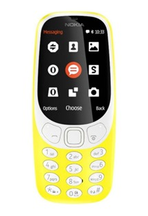 Nokia 3310 (2017) Dual-SIM Warm Yellow