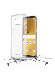 CellularLine CLEAR DUO kryt pro Samsung G955 Galaxy S8 Plus čirý