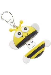 MY DOODLES dětský USB flash disk 8GB motiv BEE