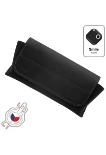 FIXED Smile Glasses pouzdro na brýle se smart trackerem Smile Motion černé (8,7x5,8cm)