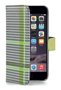 CELLY Dandy flipové pouzdro pro Apple iPhone 6 Plus/7 Plus/8 Plus zelené