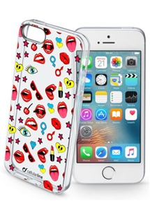 Cellularline STYLE kryt pro Apple iPhone 5/5S/SE motiv POP