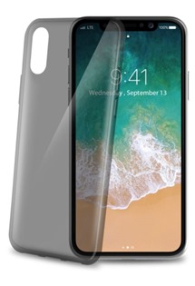CELLY Ultrathin TPU kryt pro Apple iPhone X a XS černý