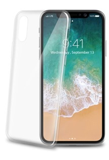 CELLY Ultrathin TPU kryt pro Apple iPhone X a XS bílý
