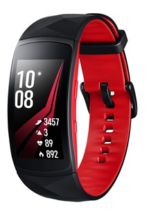 Samsung Gear Fit2 Pro Black-Red