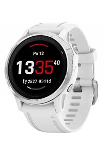 Garmin fenix 6S Glass Silver/White