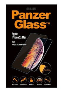 PanzerGlass Edge-to-Edge Privacy sklo pro Apple iPhone Xs Max černé