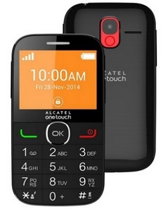 ALCATEL ONETOUCH 2004G Black