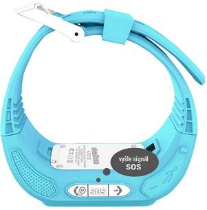 Abardeen KT01S náramkový telefon modrý