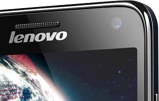 Lenovo S580 Dual SIM černý