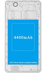 THL 4400 Black dualSIM