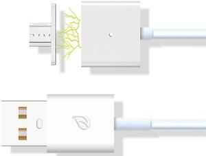 WSKEN X-cable magnetický microUSB kabel (2 adaptéry)