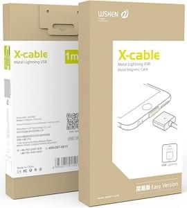WSKEN X-cable magnetický Lightning kabel